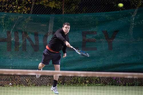 Tennis in the dark